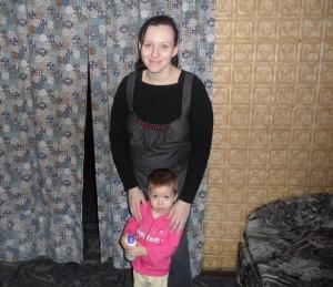 Я и мой рысенок Алинка