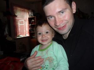 Муж и дочурка