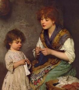Занять ребенка рукоделием