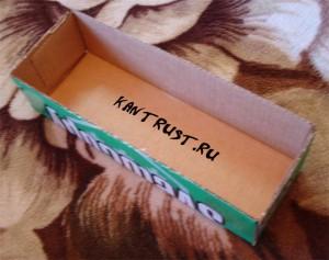 Коробка для ниток своими руками