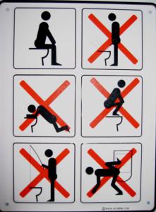 Правила поведения