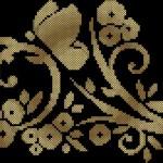 схема вышивки узор