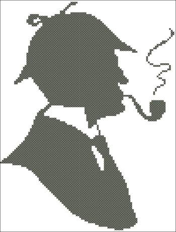 """Новая схема вышивки """"Шерлок"""