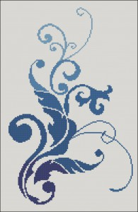 Узор 4 схема вышивки
