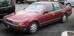 И купил Nissan Cefiro  А31 1995 года выпуска.