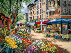 рынок в Париже
