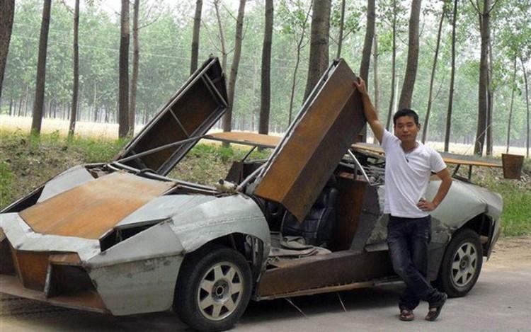 Машина сделана своими руками фото
