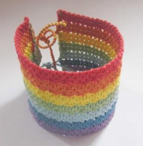 плетеный браслет