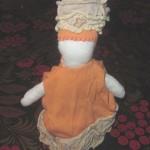 Славянская кукла-оберег своими руками. Дочке в садик.