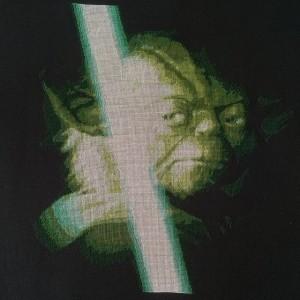 схема вышивки Йода