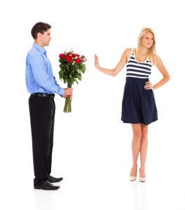 отказ женщины