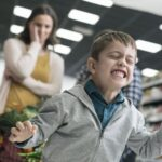 истерика ребенка